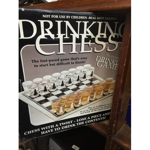 37 - Drinking chess game...