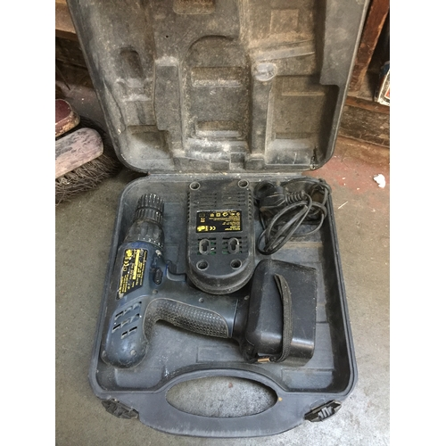 41 - A Power Craft cordless drill with charger and battery - RETURNED FAULTY...