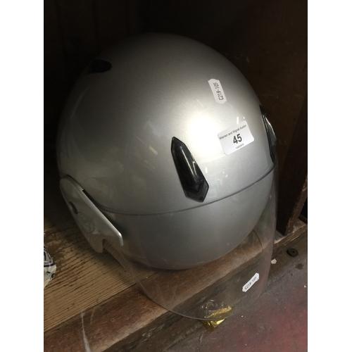 45 - A Takai crush helmet...