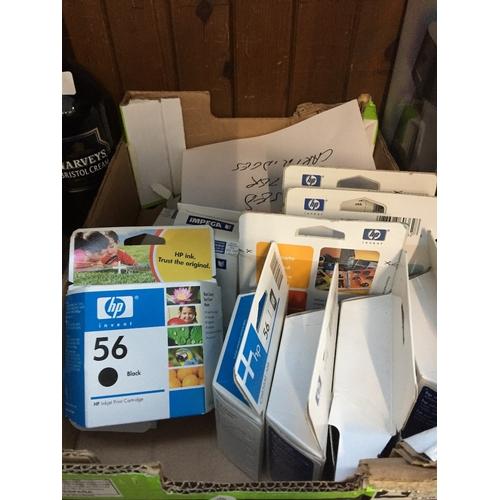 7 - A box of unused printer cartridges...