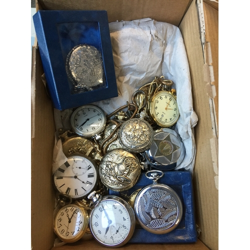 971 - A quantity of 18 various pocket watches...
