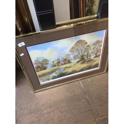 987 - Landscape print...