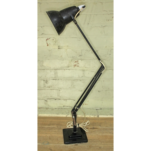 15 - A Herbert Terry & sons black angle-poise lamp....
