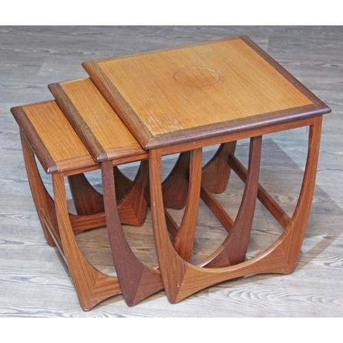 24 - A G-Plan teak nest of tables....