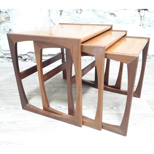 20 - A G-Plan teak nest of tables...