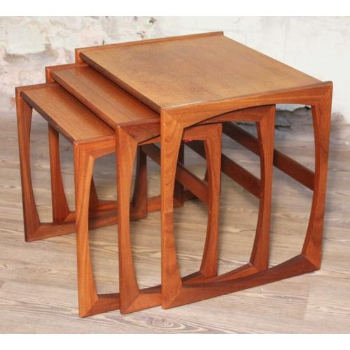 8 - A G-Plan teak nest of tables....