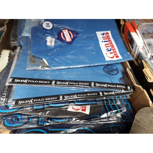 105 - A box of children's shirts...