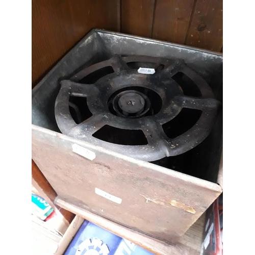 19 - A Valour camping stove in the original tin...