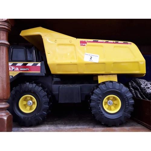 2 - A Tonka truck...