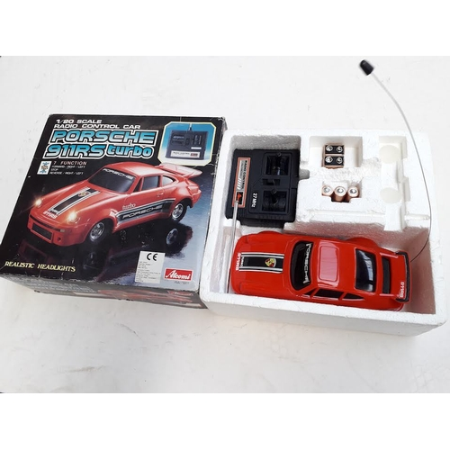 20 - A Porsche RC car with new batteries...