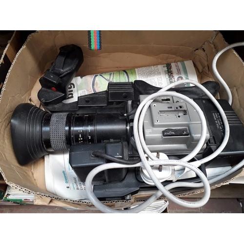 25 - A Panasonic video camera...