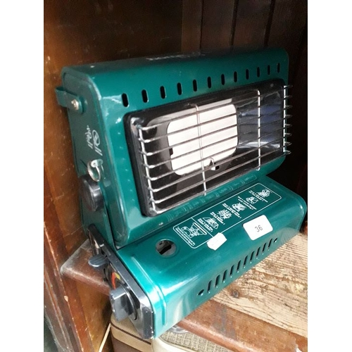36 - A portable gas fisherman's heater...