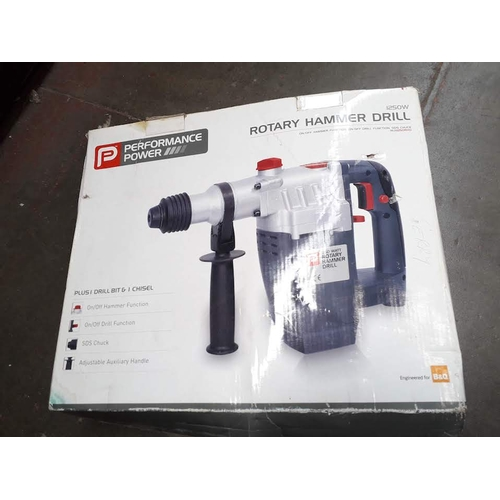 55 - A rotary hammer drill...