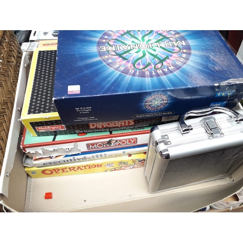 62 - A box of games...