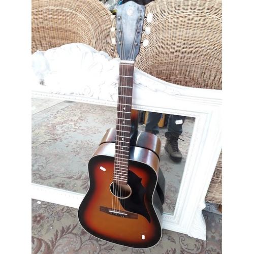 88 - Old Laredo Western guitar Model 3169 Antique Sunburst Finish...
