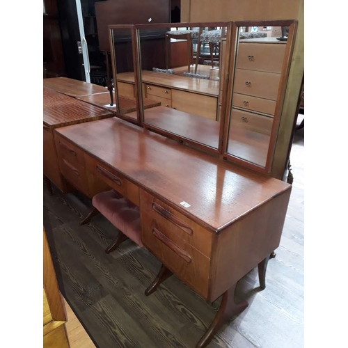 24 - A G-Plan teak dressing table....