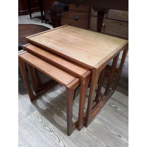30 - A G-Plan teak nest of tables....