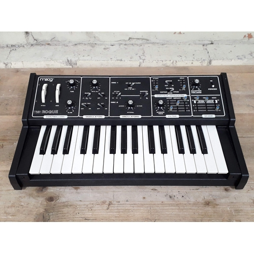 389 - A Moog Rogue monophonic analogue synthesizer serial no. 3352....
