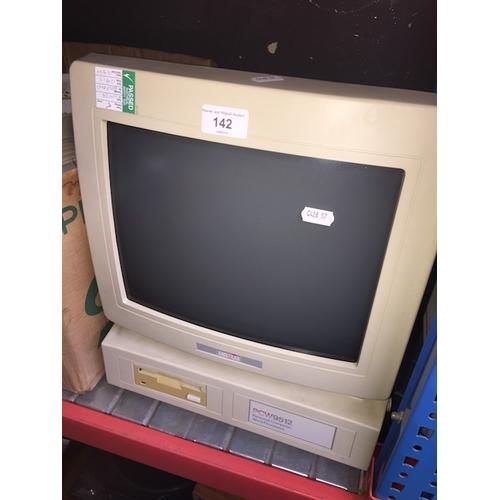 142 - An Amstrad PCW9512 vintage PC....