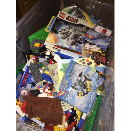 44 - A box of Lego....