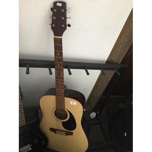 66 - A Prince guitar, model number : WJ-750...