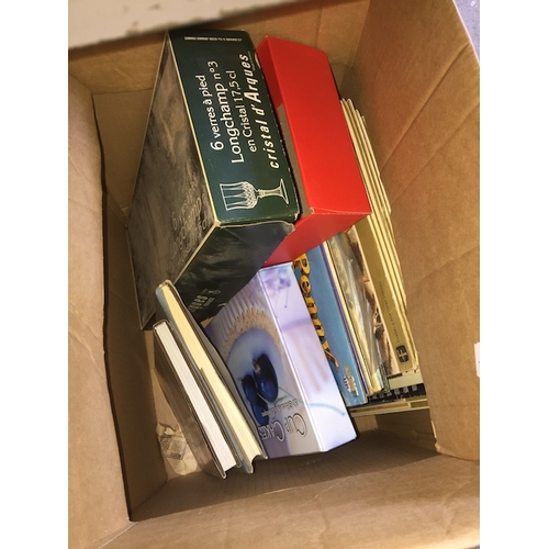931 - Box of LP records and other items...