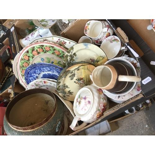 937 - Box of pottery...