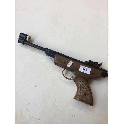 955 - Italian made air pistol...
