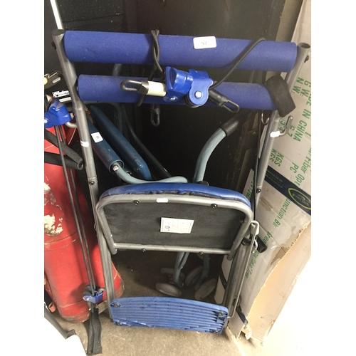 97 - A multi gym fitness chair....