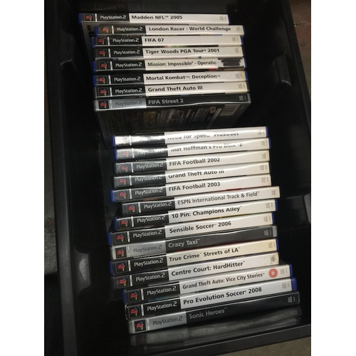 40 - A collection of PS2 games...