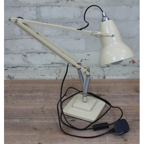 42 - A modern anglepoise lamp stamped