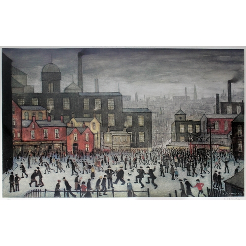 51 - After Laurence Stephen Lowry (1887-1976),