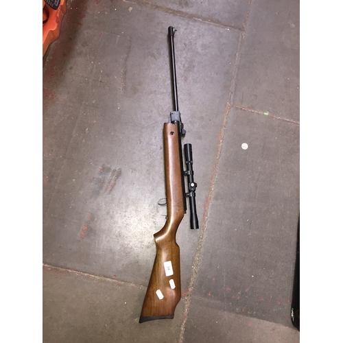 34 - A BAM XS-B15 cal 4.5 / .177 air rifle with SMK 4x20 sight....
