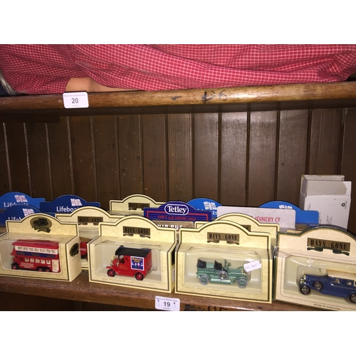 19 - Boxed model vehicles including RNLI examples...