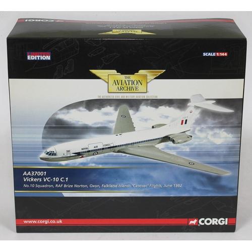 13 - Corgi The Aviation Archive Vickers VC-10 C.1 No. 10 Squadron, RAF Brize Norton, Oxon, Falkland Islan...