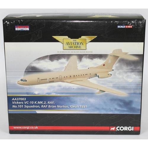 20 - Corgi The Aviation Archive Vickers VC-10 K.MK.2, RAF, No. 101 Squadron, RAF Brize Norton, Oxon 1991,...