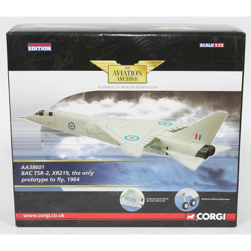 21 - Corgi The Aviation Archive BAC TSR-2, XR219, the only prototype to fly, 1964, AA38601, limited editi...