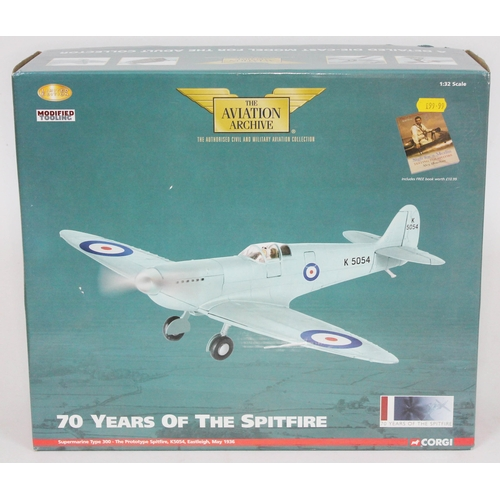 24 - Corgi The Aviation Archive 70 Years of the Spitfire Supermarine Type 300 - The Prototype Spitfire, K...