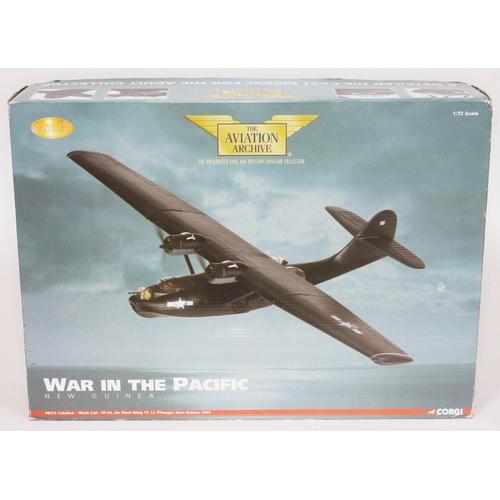 25 - Corgi The Aviation Archive War in the Pacific New Guinea PBY-5 Catalina - 'Black cat', VP-34, Air Fl...
