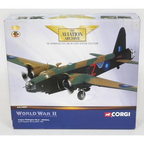 27 - Corgi The Aviation Archive World War II South East Asia Command Vickers Wellington Mk.X - HZ950:Z, N...