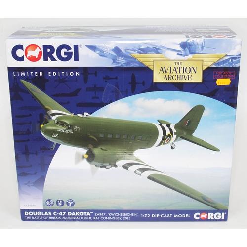 29 - Corgi The Aviation Archive Douglas C-47 Dakota ZA947, 'Kwicherbichen', The Battle of Britain Memoria...