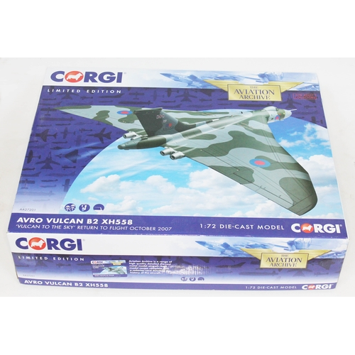 32 - Corgi The Aviation Archive Avro Vulcan B2 XH558 'Vulcan to the Sky' Return to Flight October 2007, A...