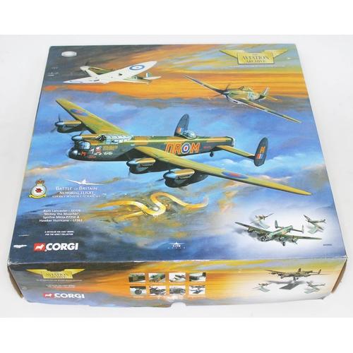 33 - Corgi The Aviation Archive Battle of Britain Memorial Flight Avro Lancaster - EE176 'Mickey the Mooc...