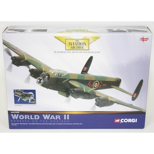 39 - Corgi The Aviation Archive World War II Bombers of the Horizon Avro Lancaster MkII (Special) - AJ-G,...