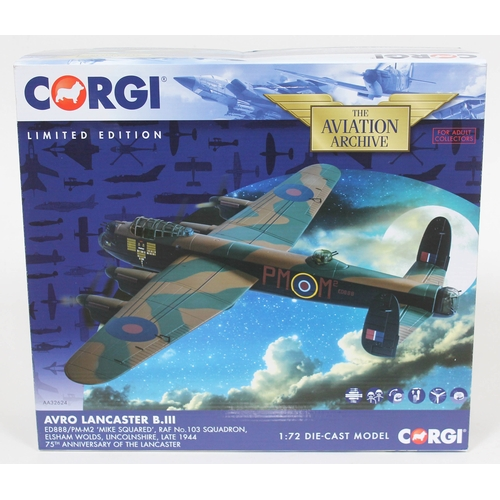 4 - Corgi The Aviation Archive Avro Lancaster B.II ED888/PM-M2 'Mike Squared', RAF No. 103 Squadron, Els...