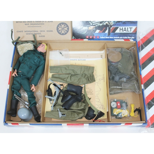 45 - Action Man Escape From Colditz 40th Anniversary Nostalgic Collection with figure, some parts still s...