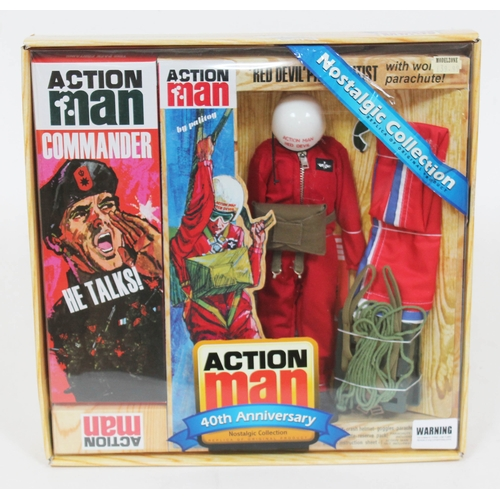 46 - Action Man 'Red Devil' Parachutist 40th Anniversary Nostalgic Collection (accessories set only, does...