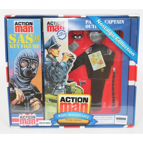 47 - Action Man Panzer Captain Outfit 40th Anniversary Nostalgic Collection, appears unused. UK P&P £10+V...