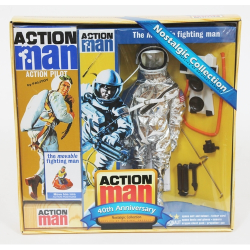 48 - Action Man The Moon Fighting Man 40th Anniversary Nostalgic Collection, appears unused. UK P&P £10+V...