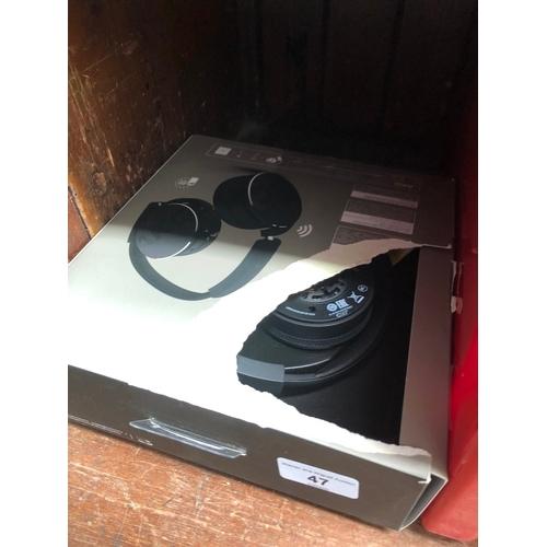 47 - A pair of AKG C50BT headphones...